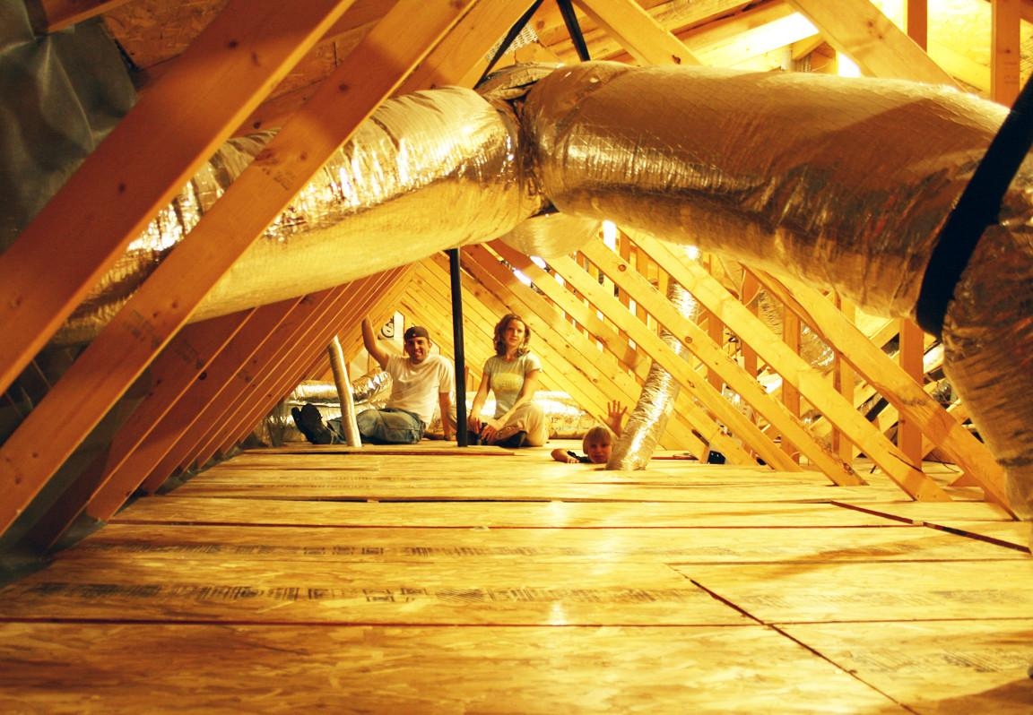 Great Utility Designing Attic Ladder Small Opening