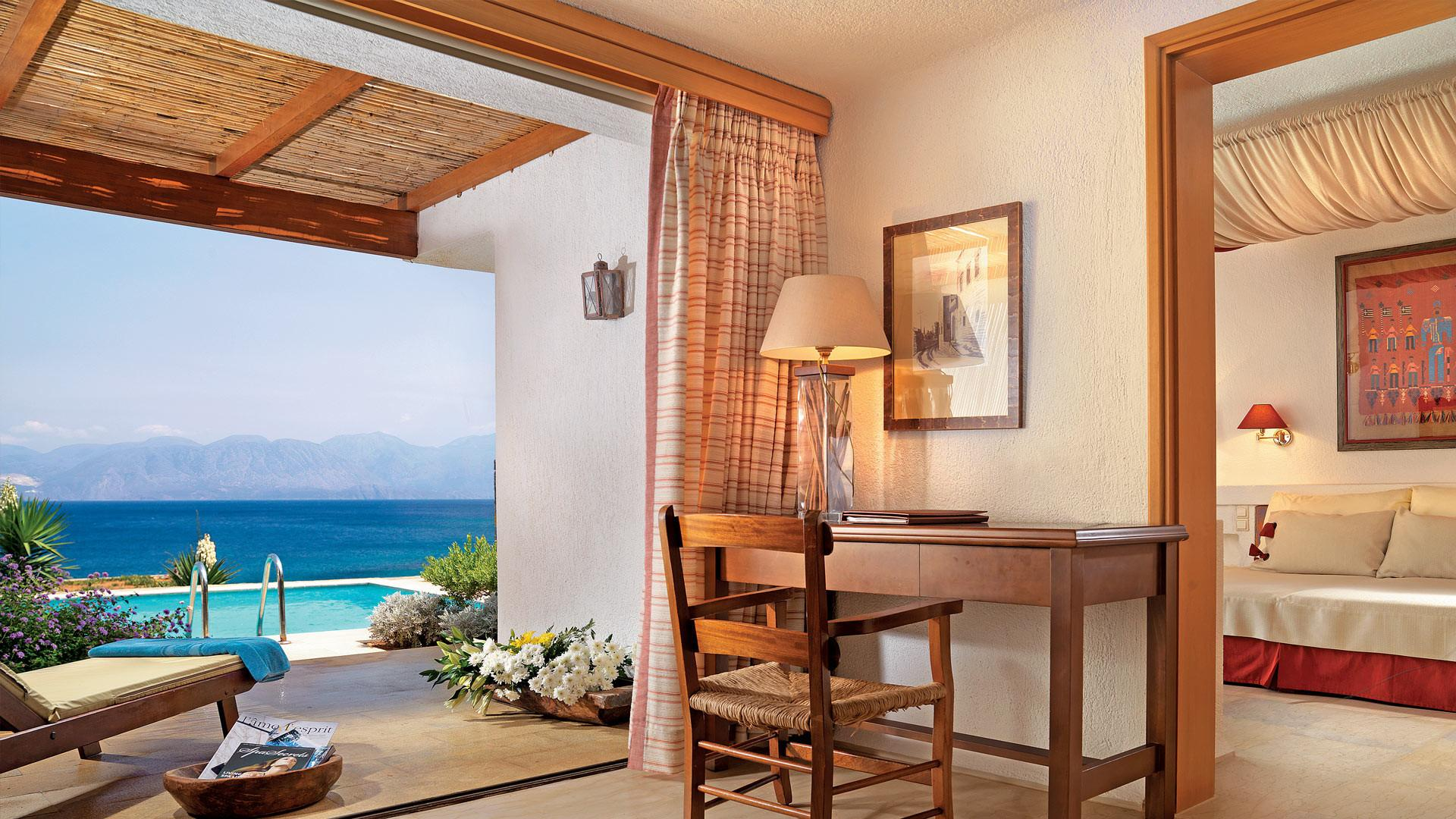 Greece Luxury Hotels Bungalows Private Pool Elounda Mare