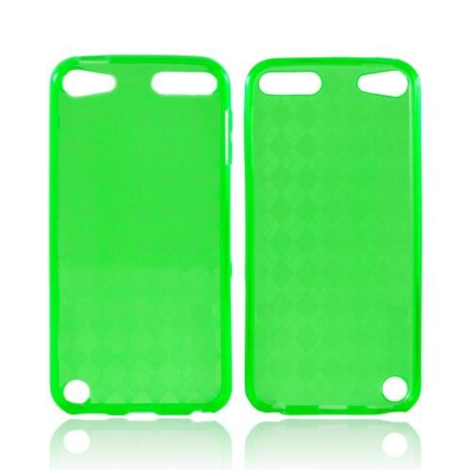 Green Apple Ipod Touch Tpu Gel Case Cover Anti Slip