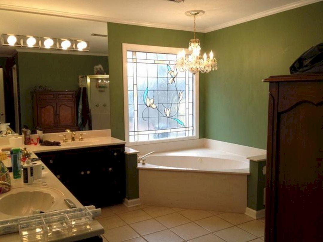 Green Bathroom Paint Color Ideas