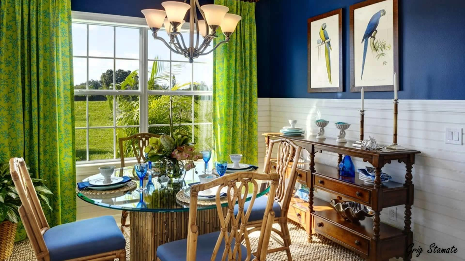 Green Blue Interior Design Unusual But Stunning