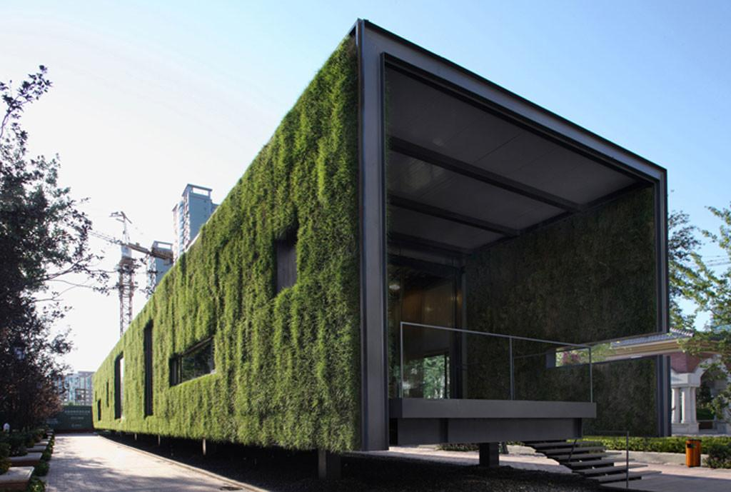 Green Container Building Design Bee Home Plan