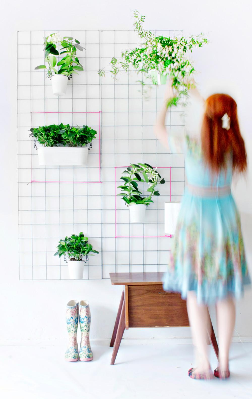 Green Diy Wall Planter