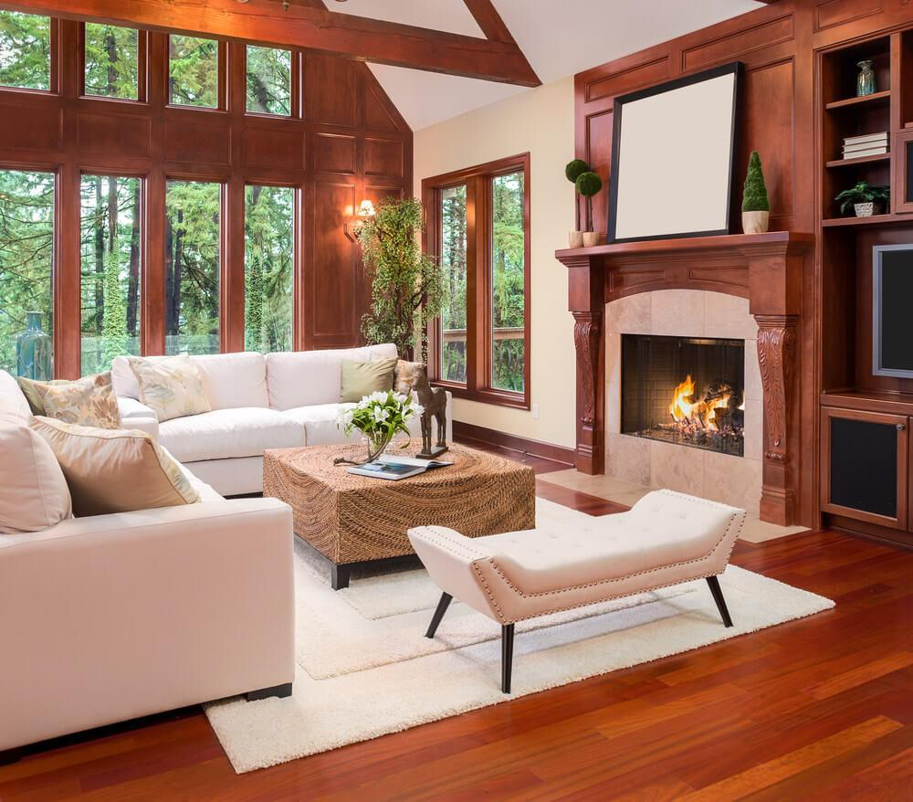 Green Living Room Color Schemes Brown Beautifully