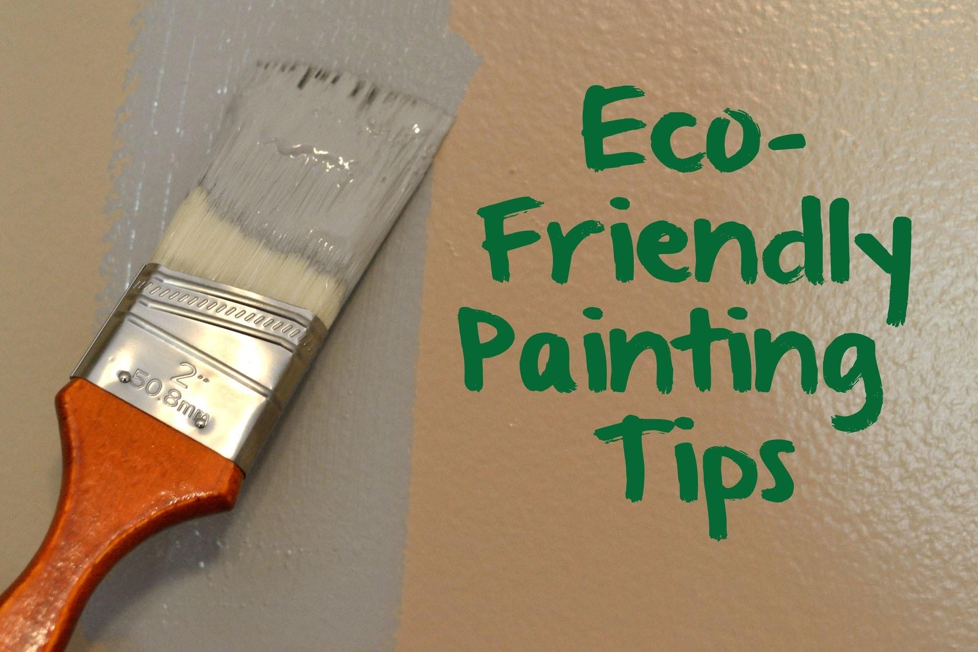 Green Nursery Eco Friendly Painting Tips