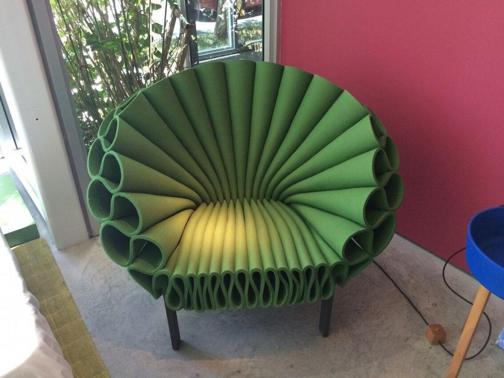 Green Peacock Cappellini Chair Home Decorating Trends