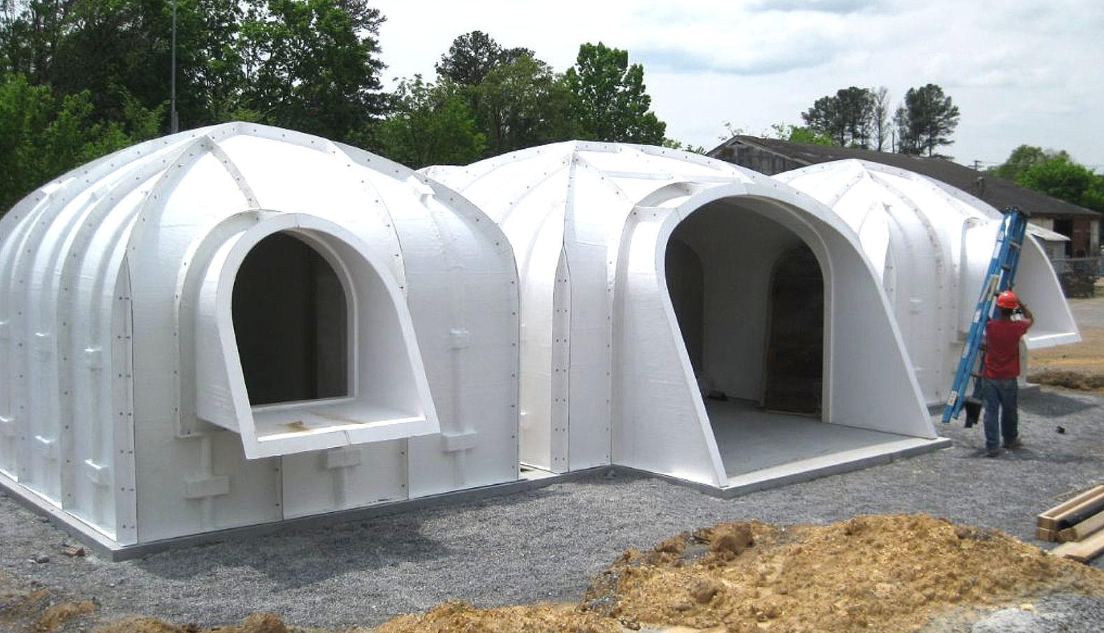 Green Roofed Hobbit Home Anyone Can Build Just Days