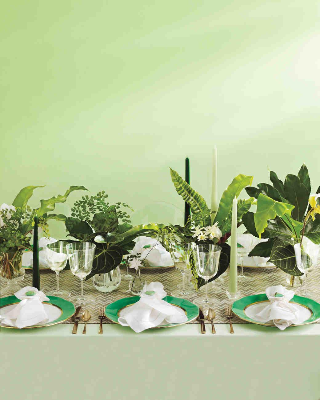 Green Wedding Ideas Shades Emerald Jade