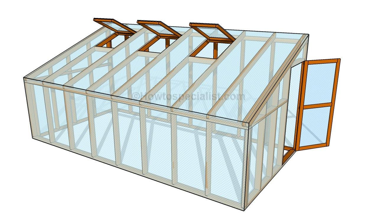 Greenhouse Bench Plans Howtospecialist Build