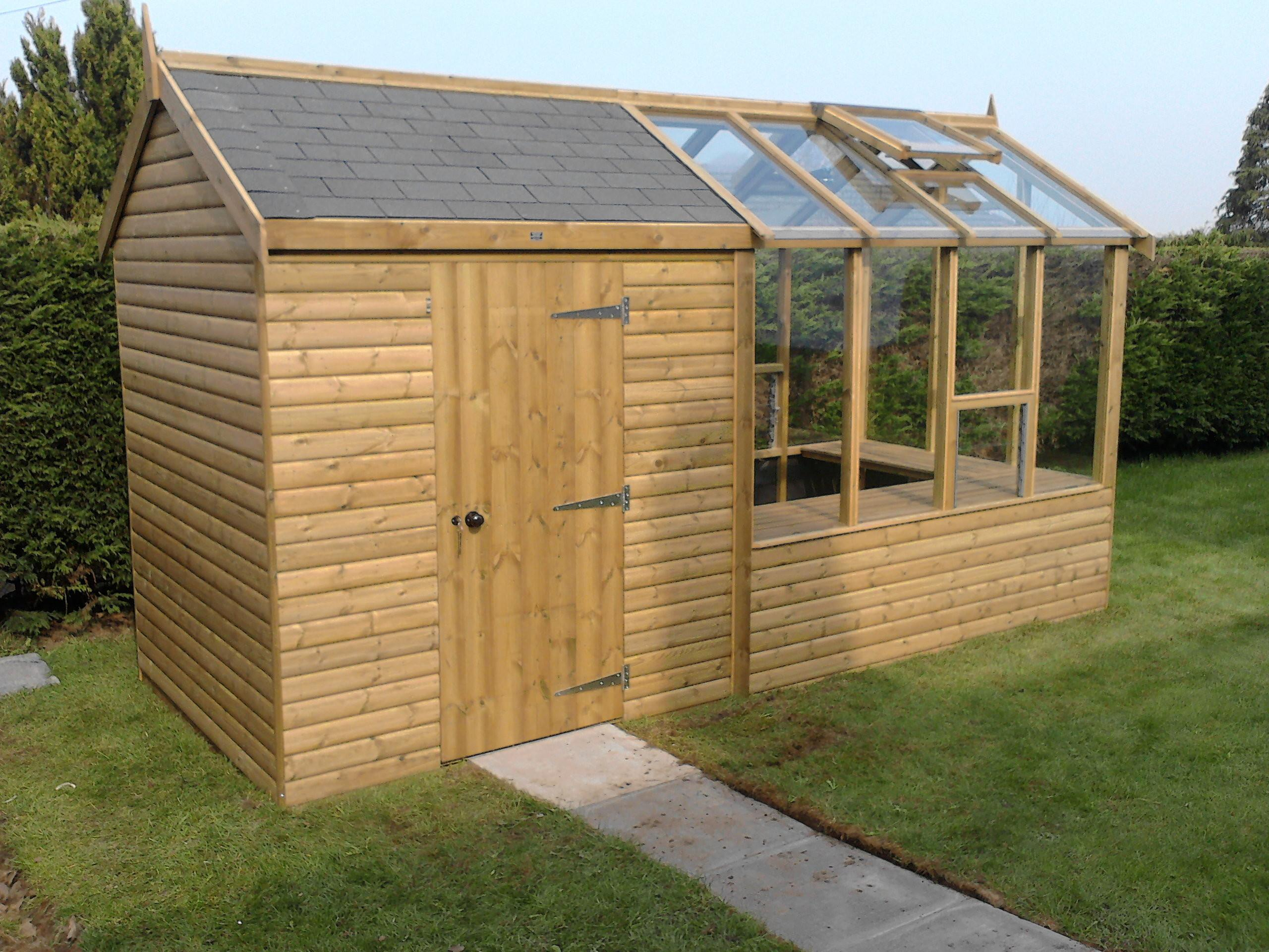 Greenhouse Garden Shed Locating Plans