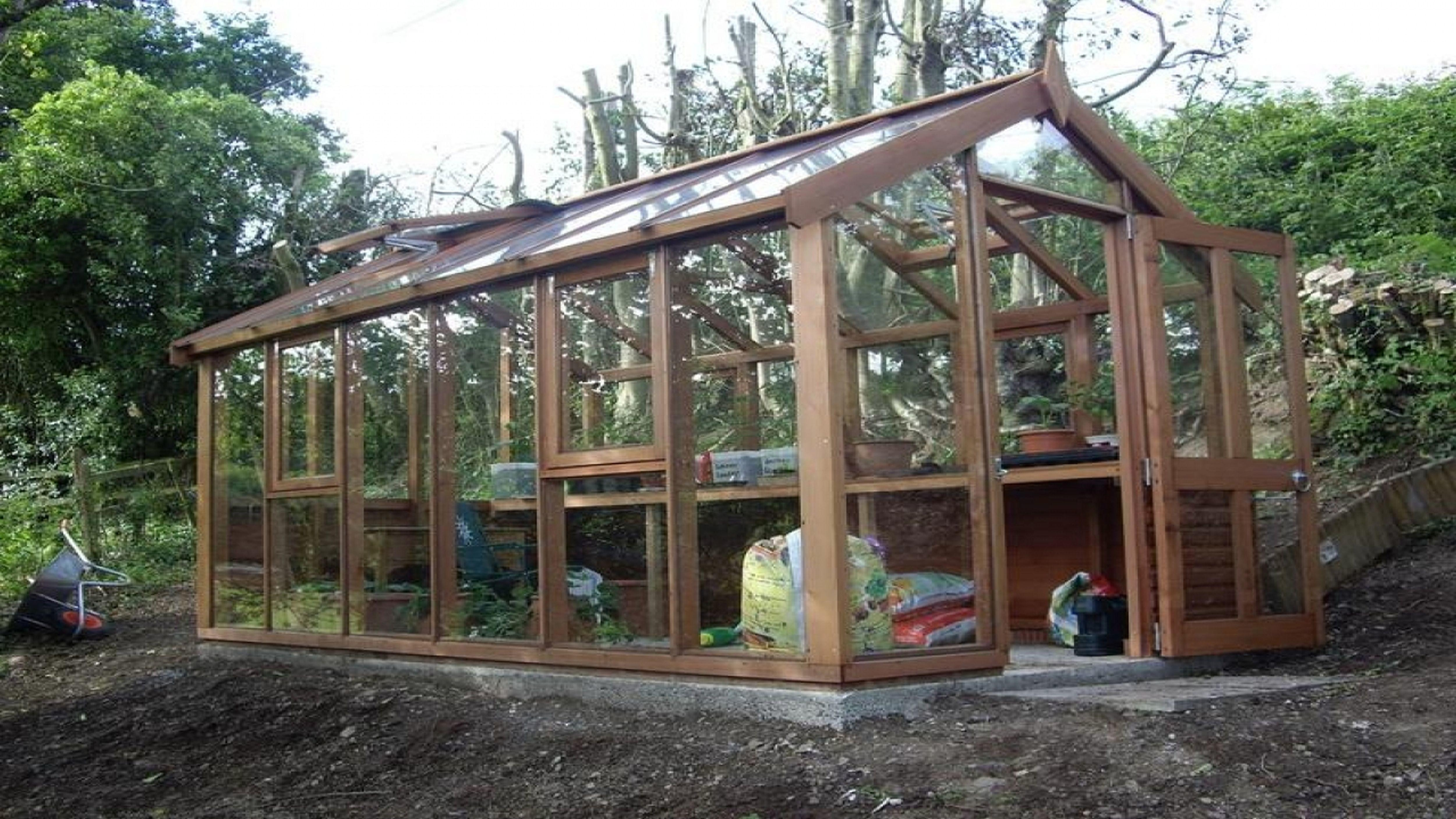 Greenhouse Plans Wood