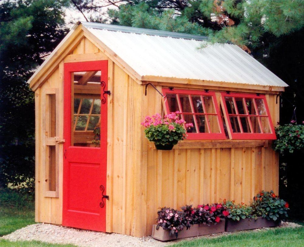 Greenhouse Shed Diy Choose Your Garden Outdoor