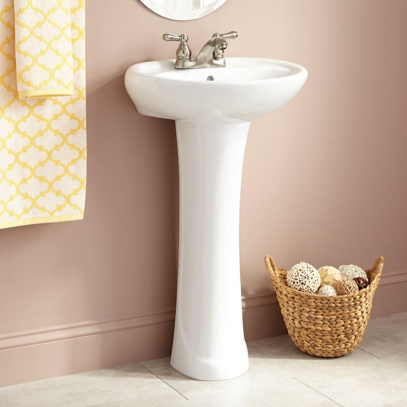 Gretchen Porcelain Pedestal Sinksimplicity Its Best