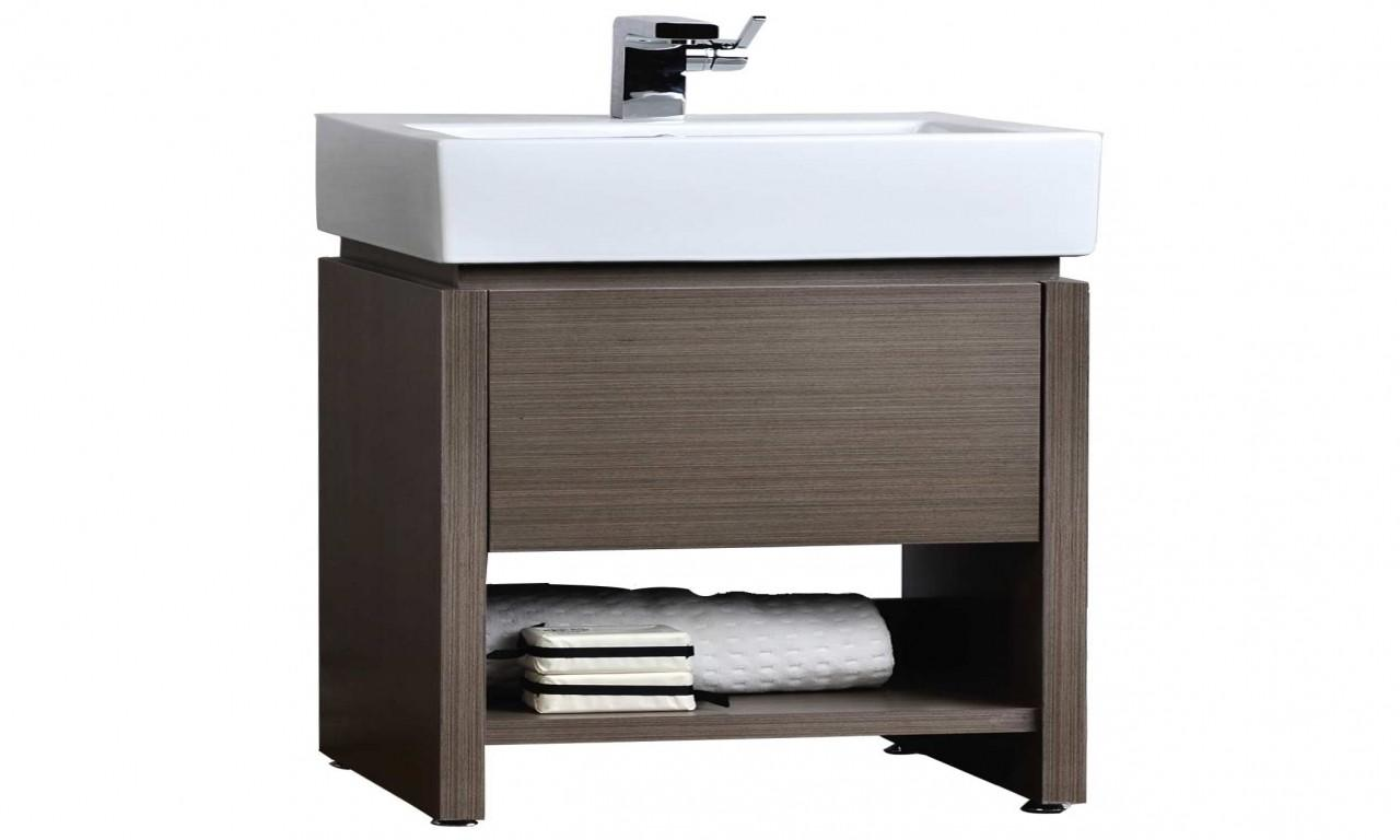 Grey Bathroom Vanity Contemporary Vanities Small