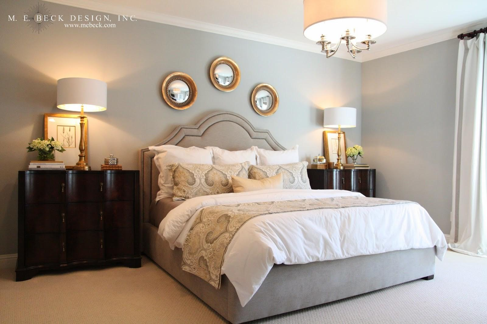 Grey Bedroom Gold Accents Best Navy Decoratorist 58407