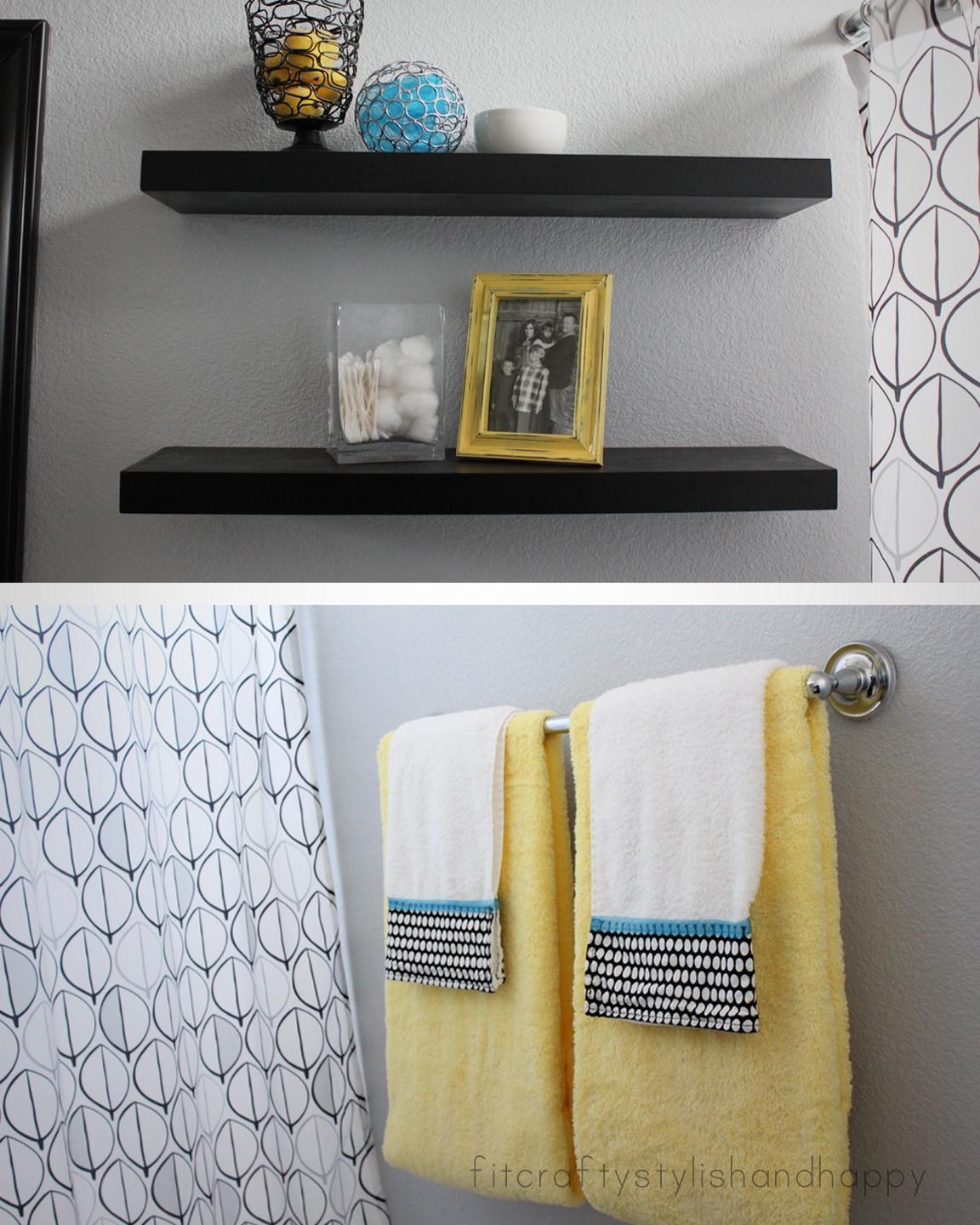 Grey Black Bathroom Decor 2017 Grasscloth
