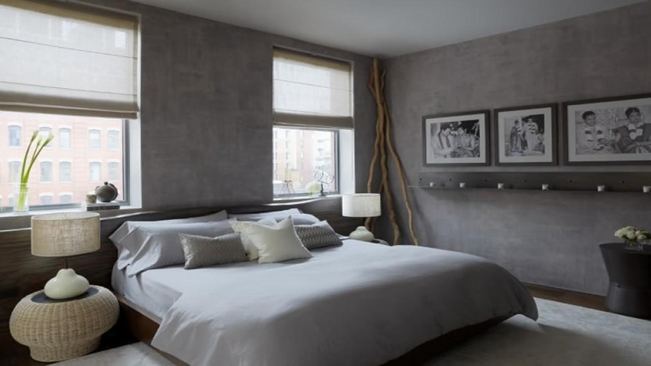 Grey Brown Bedroom Taupe Sophisticated