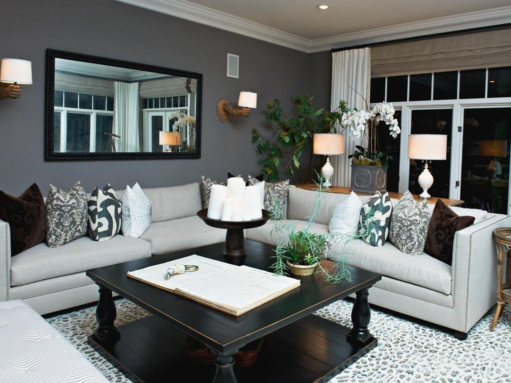 Grey Living Room Decorating Ideas Modern House