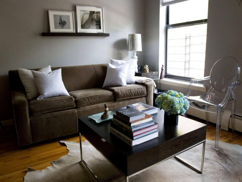 Grey Living Room Schemes Modern House