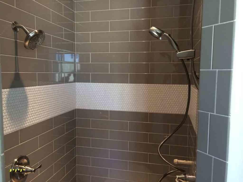 Grey Master Shower New Tile Ideas Penny