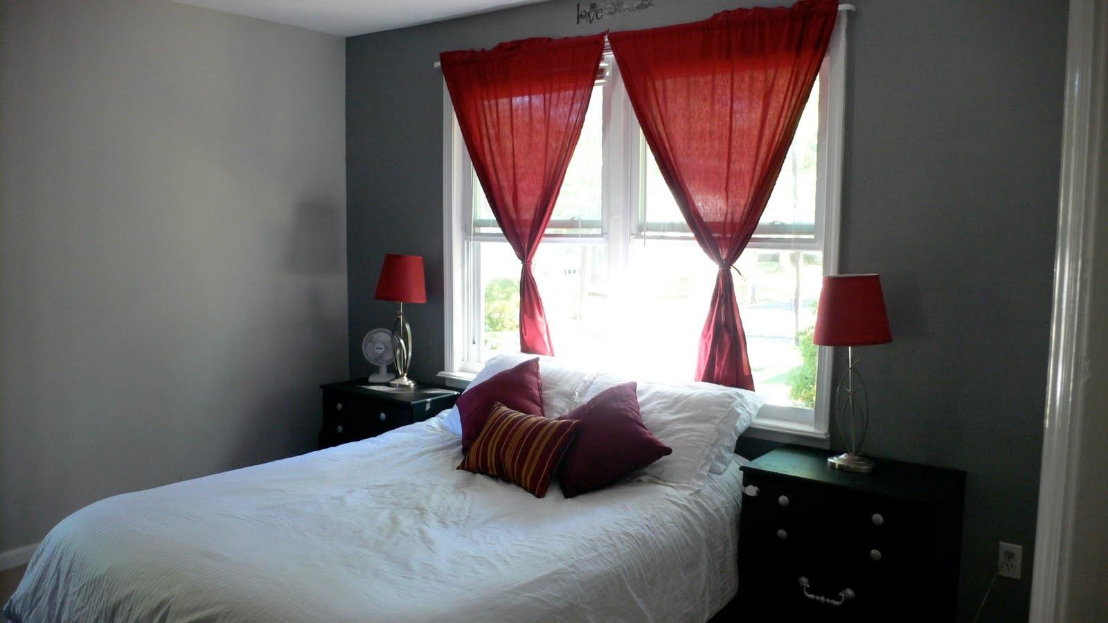 Grey Red Bedroom Ideas Dgmagnets