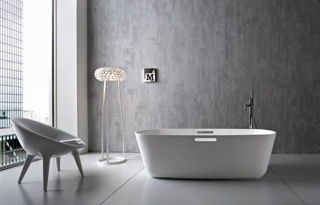 Grey Wall Tiles Bathroom Ideas