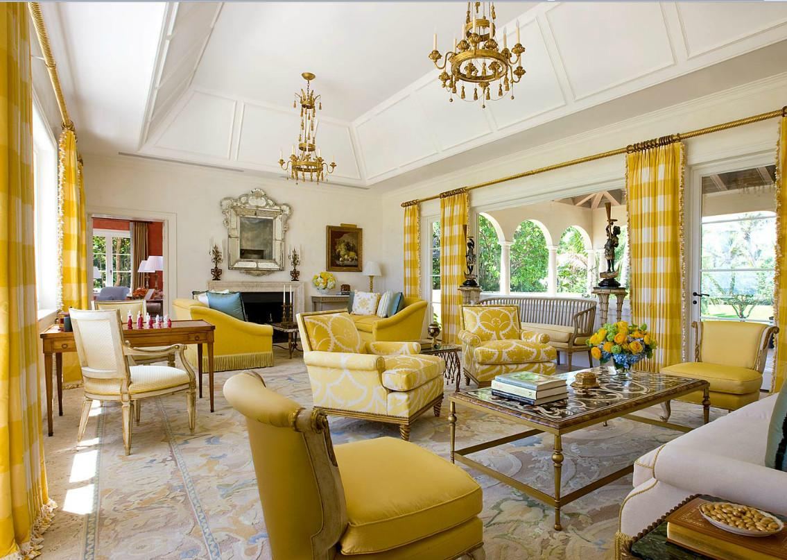 35 Cozy Yellow Living Rooms Ideas That Provide The Perfect Escape