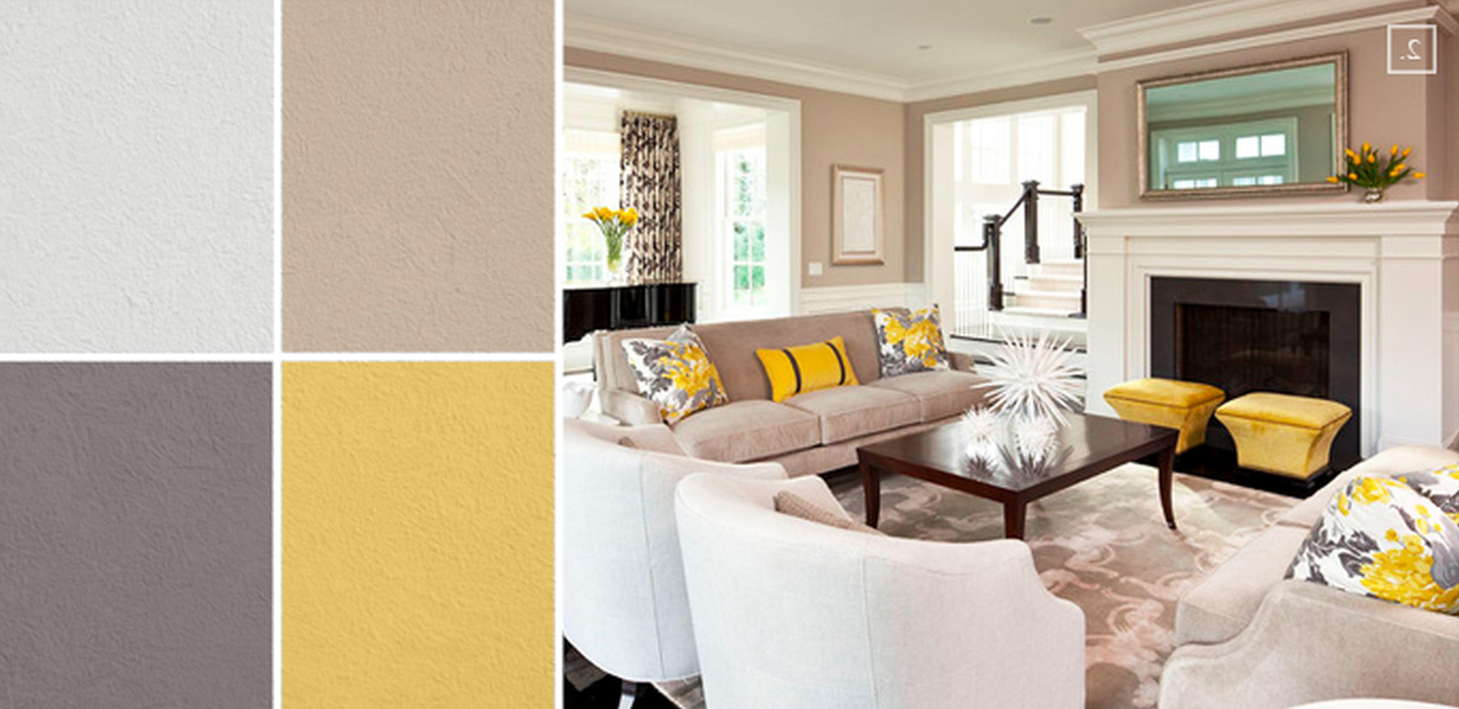 Grey Yellow Living Room Ideas Cool Best