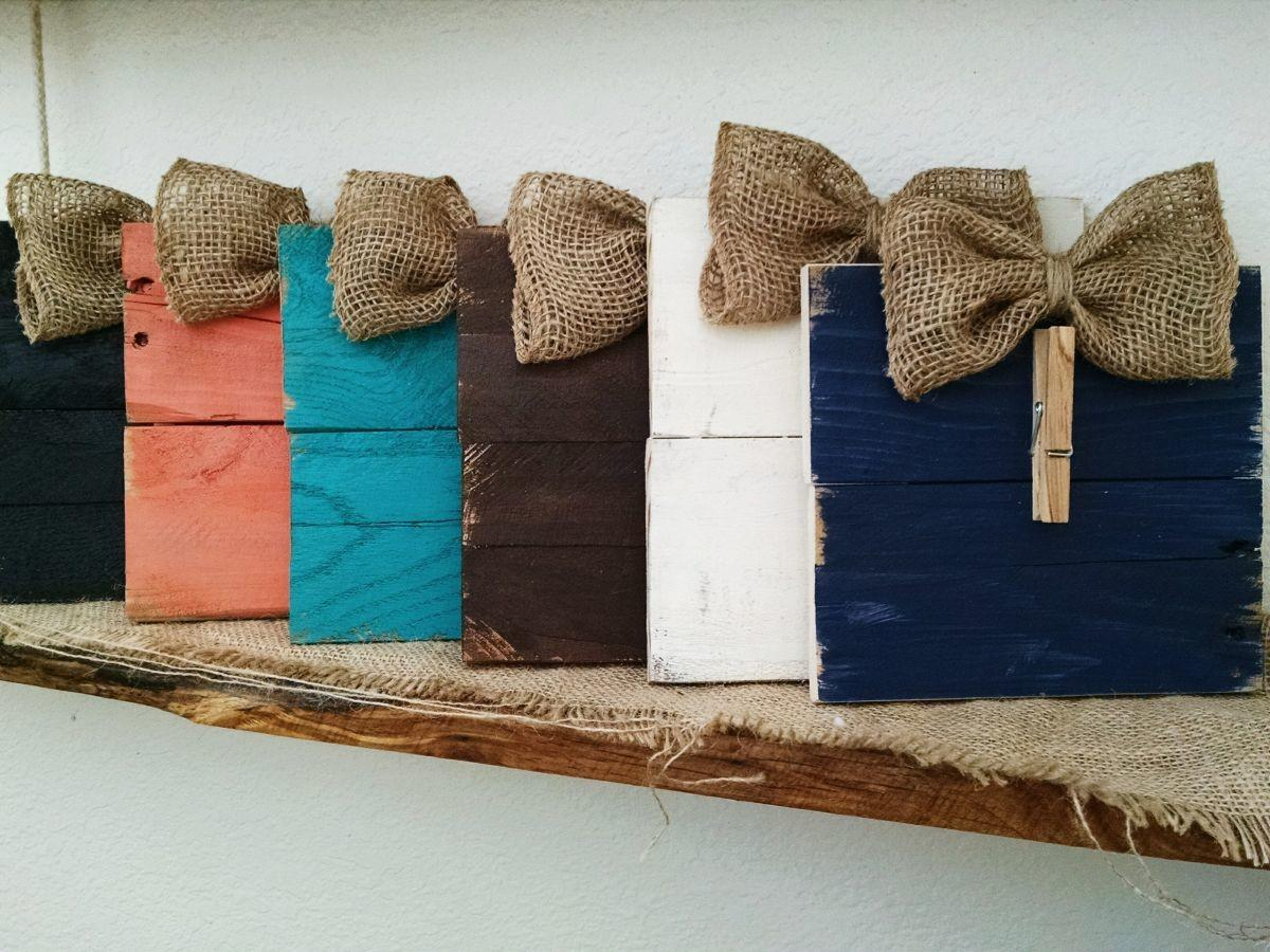 Groopdealz Rustic Burlap Bow Gift Card Holder