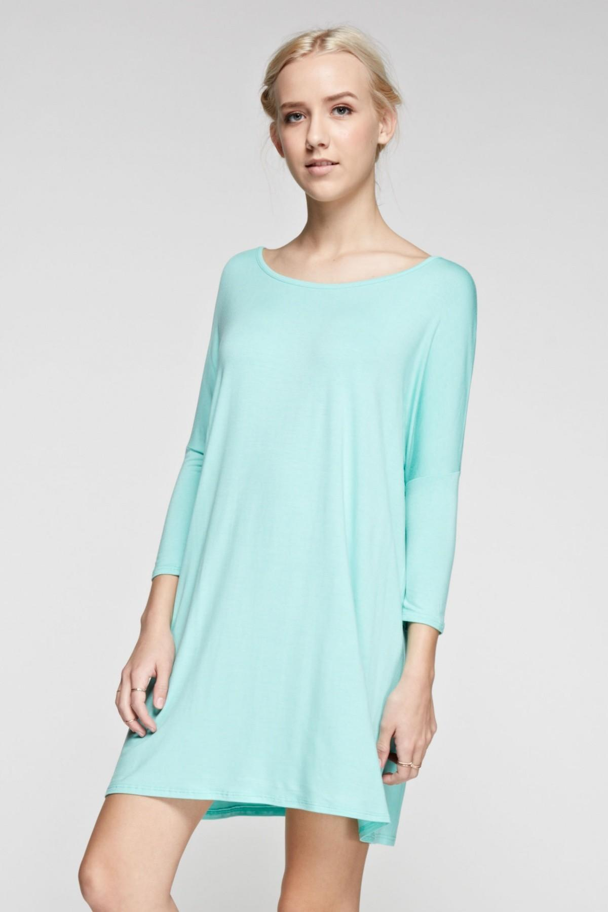 Groopdealz Spring Easy Tee Dress Colors