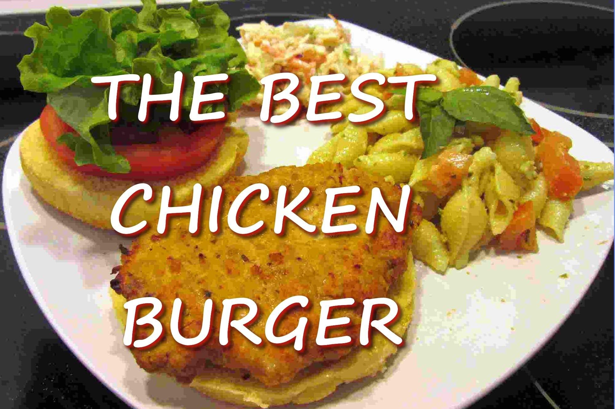 Ground Chicken Burgers Recipe