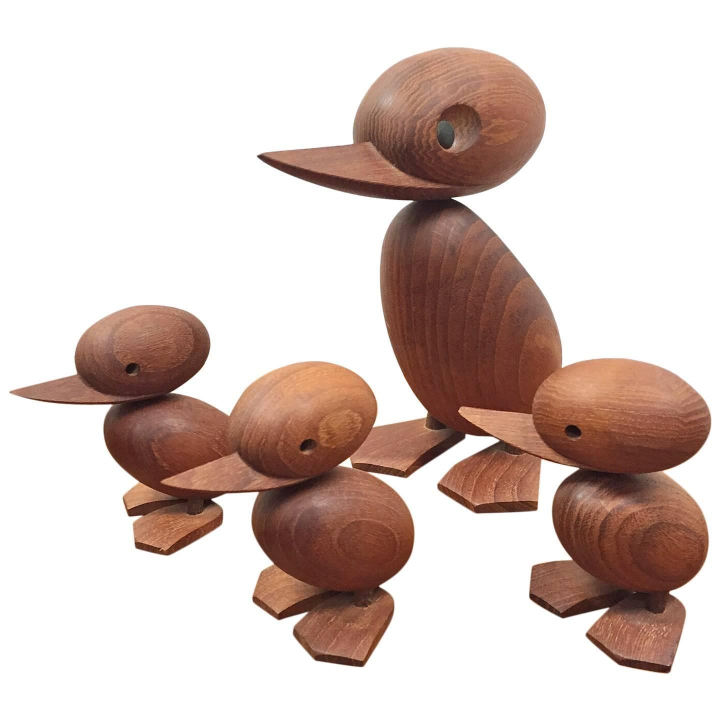 Group Four Hans Bolling Danish Modern Teak Duck