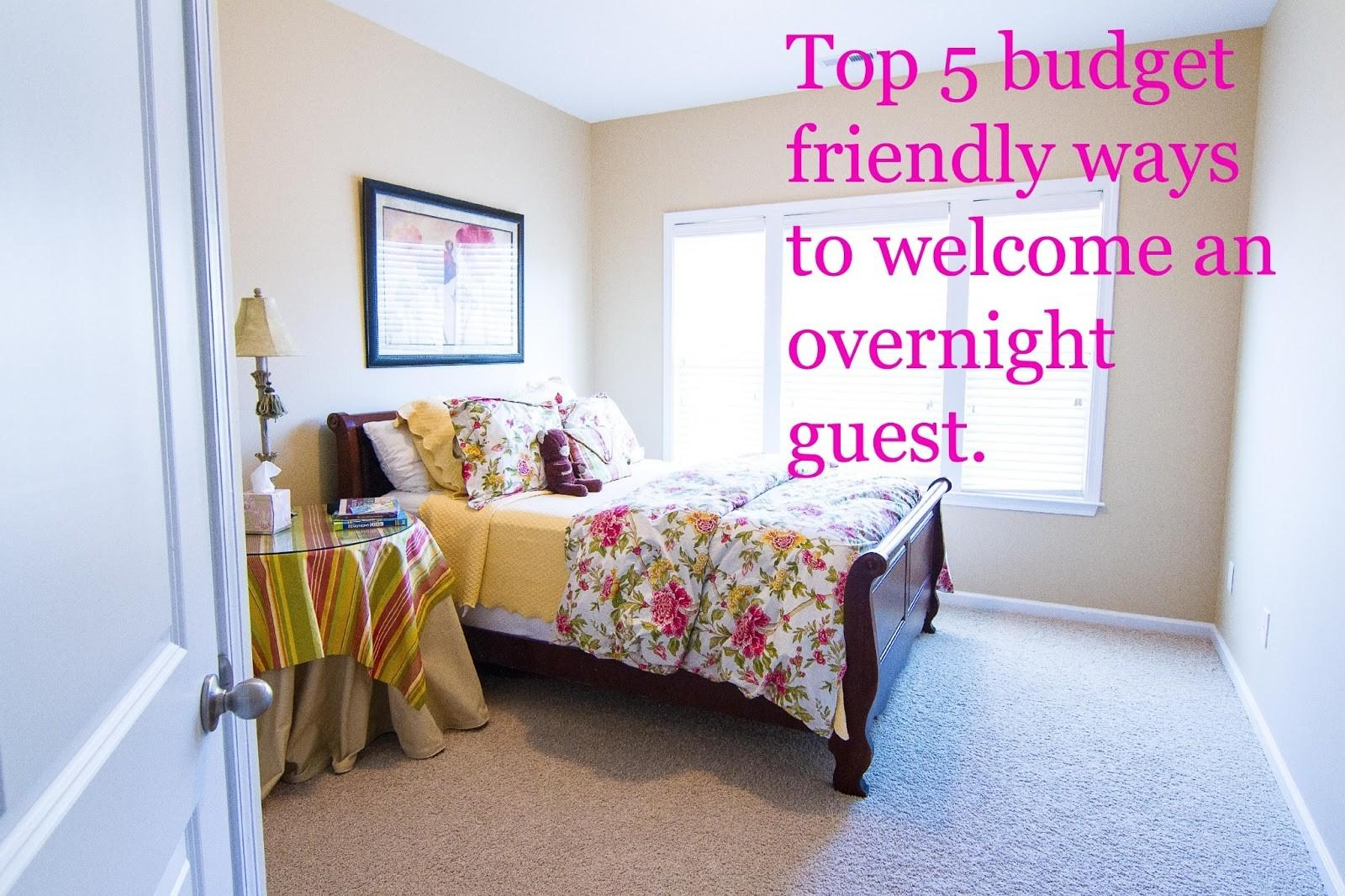Guest Bedroom Decorating Ideas Budget Iron Blog