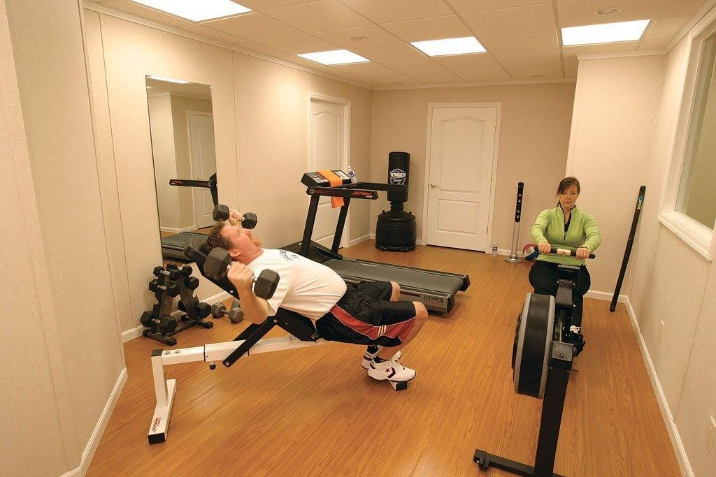Gym Ideas Decorating Home Style