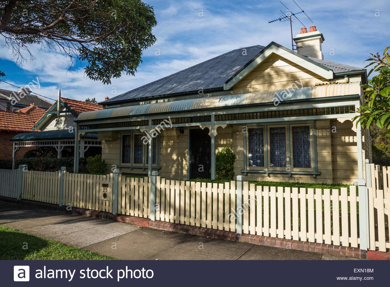 Haberfield Garden Suburb Federation Style House