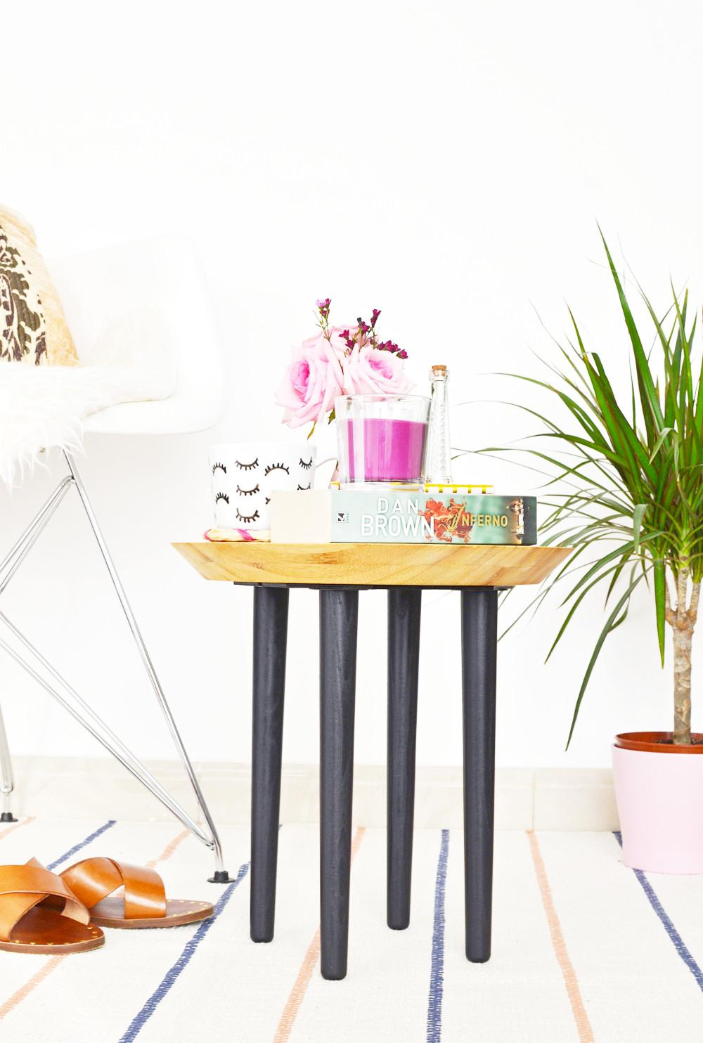 Hack Diy Chopping Board Side Table Enthralling