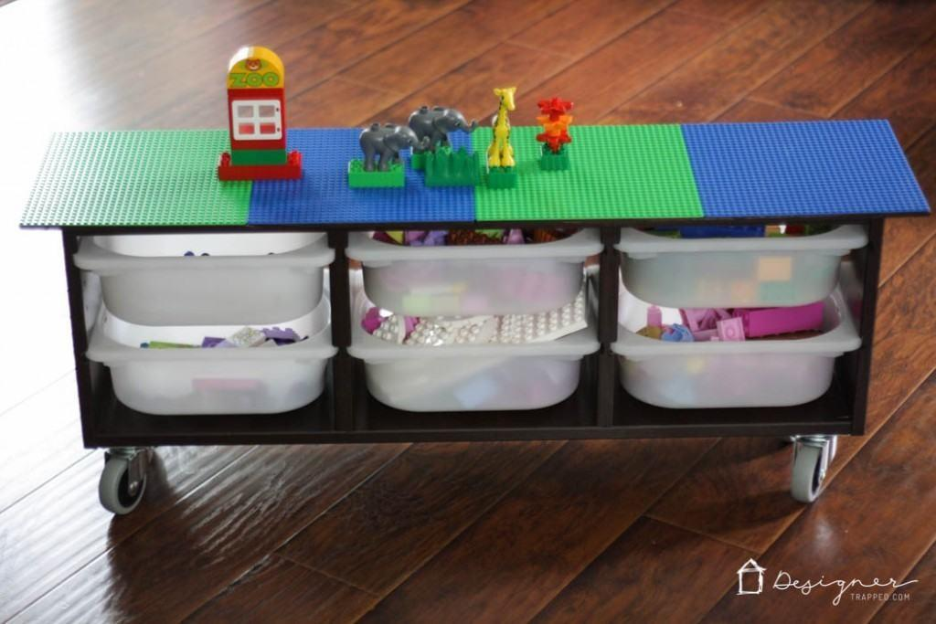 Hack Diy Lego Table Designer Trapped