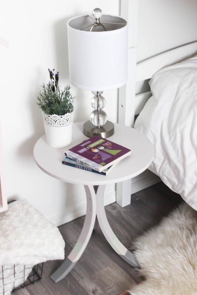 Hack Small Side Table Makeover Love Create Celebrate