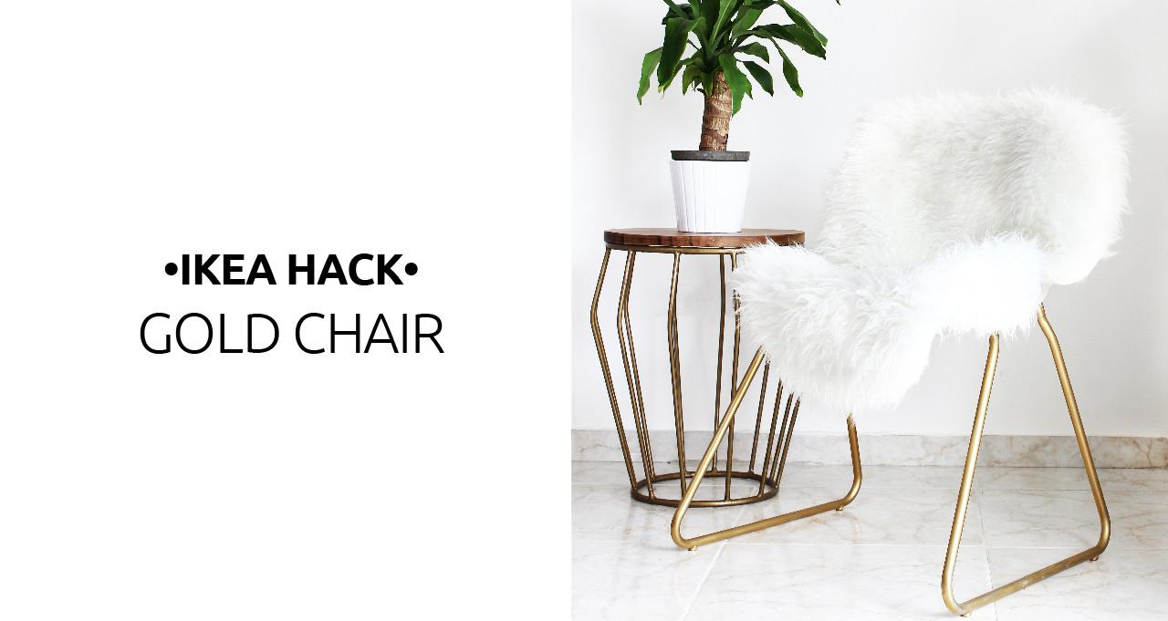 Hack Turn Boring Chair Into Glam Piece Key