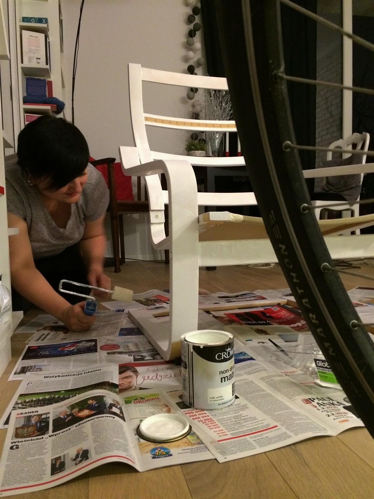 Hackers Poang Chair Upcycled Furniture Modification