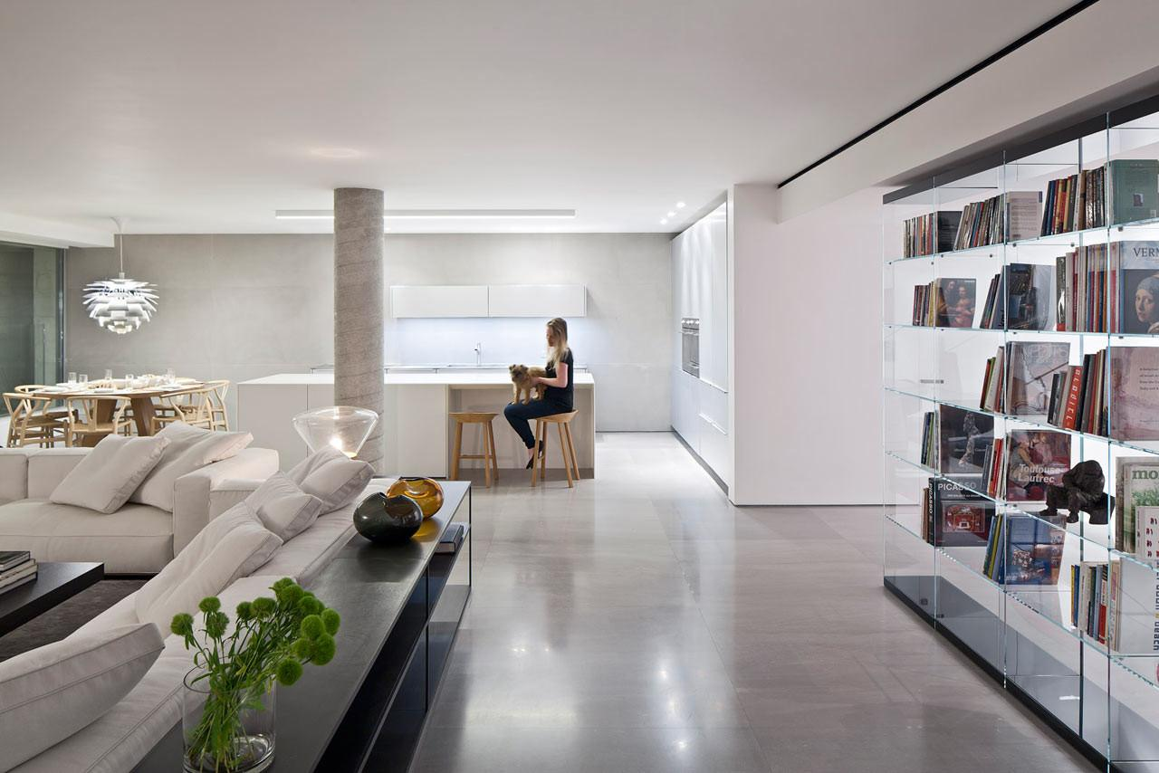 Haifa Penthouse Levin Packer Architecture Official