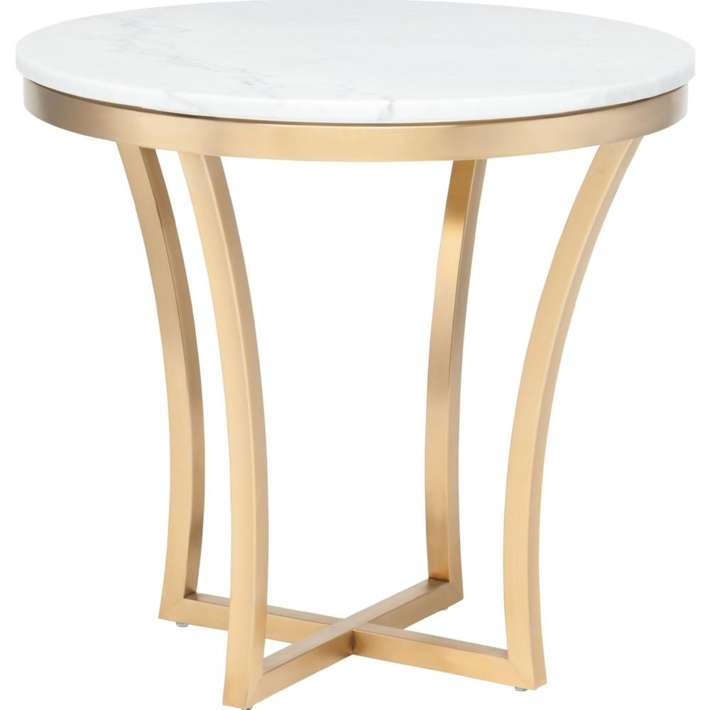 Hall Contemporary End Tables Gold