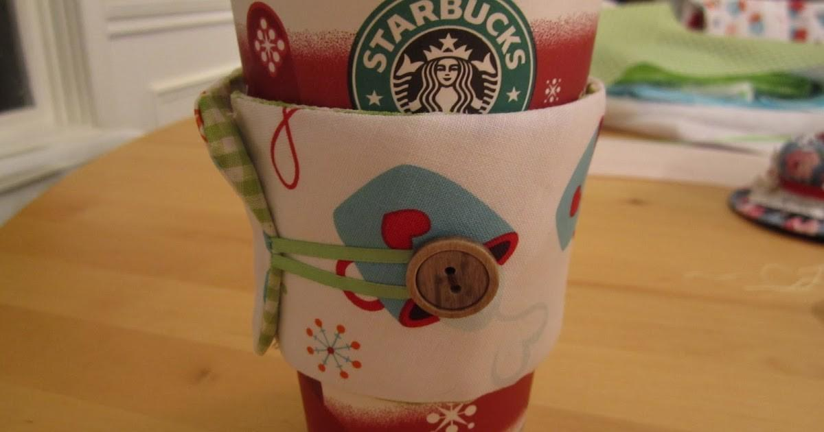 Hallelujahs Diy Coffee Cup Cozy