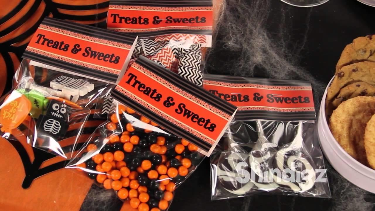 Halloween Candy Treat Bags Personalized Diy Favor