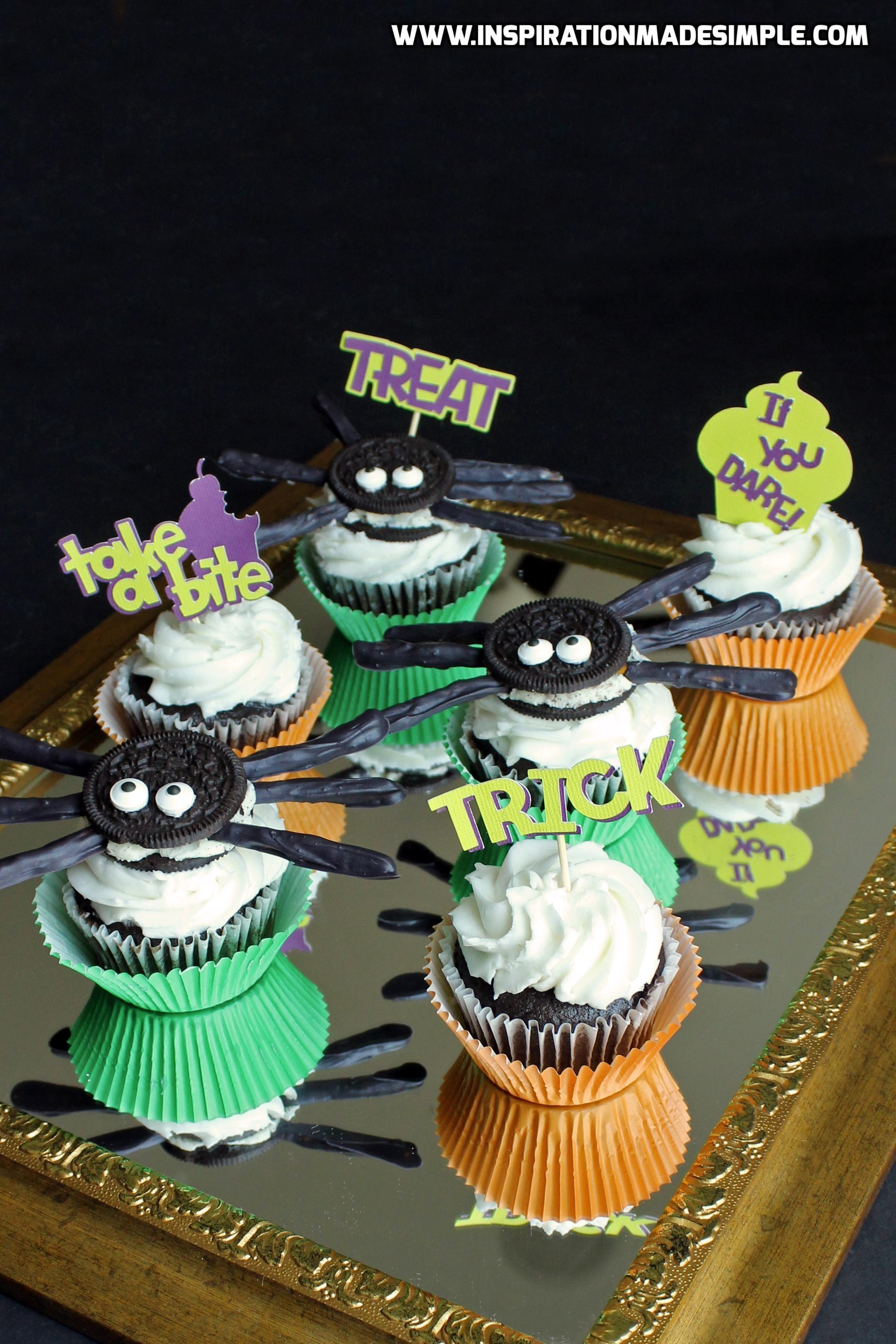 Halloween Cupcake Toppers Inspiration Made Simple
