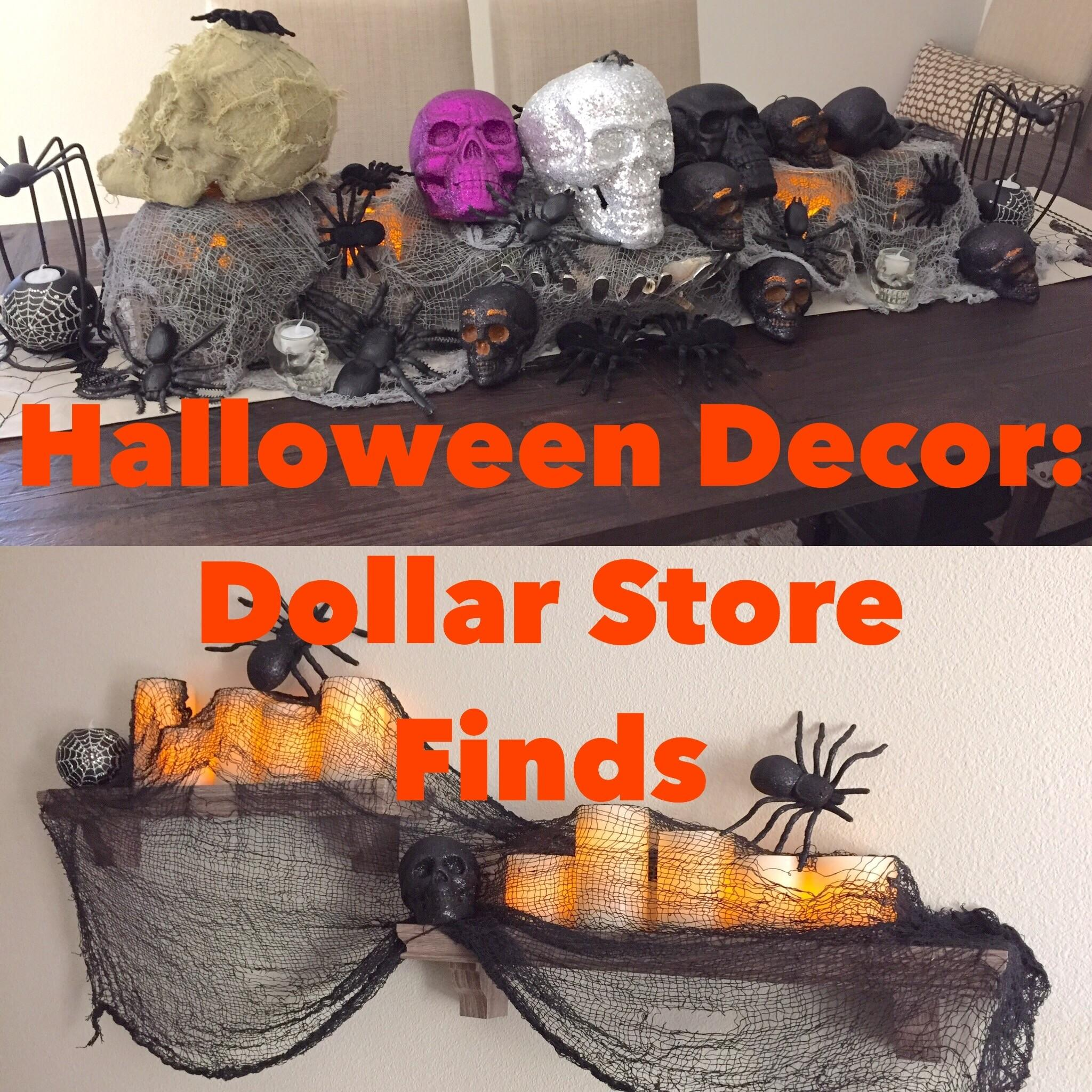 Halloween Decorating Dollar Store Finds Treehouse Threads