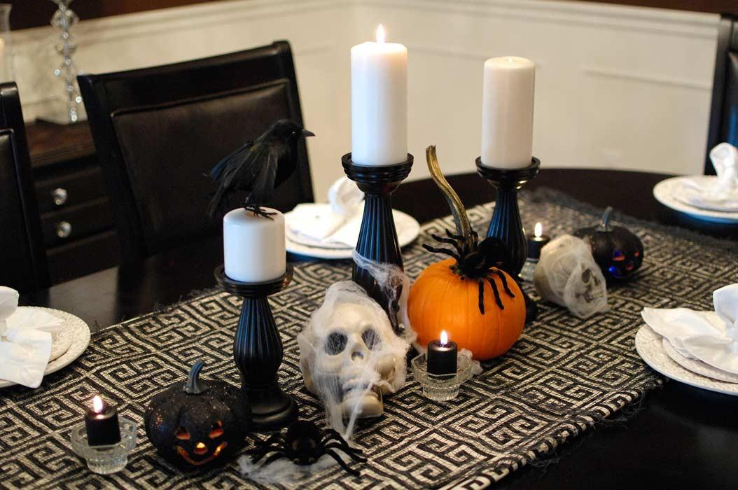 Halloween Decorations Dining Room Living Rich