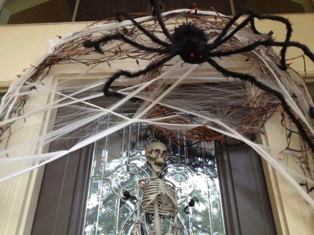 Halloween Decorations Spiders Web Spook Everyone