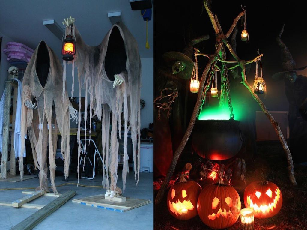 Halloween Diy Outdoor Decoration Ideas Feed Inspiration