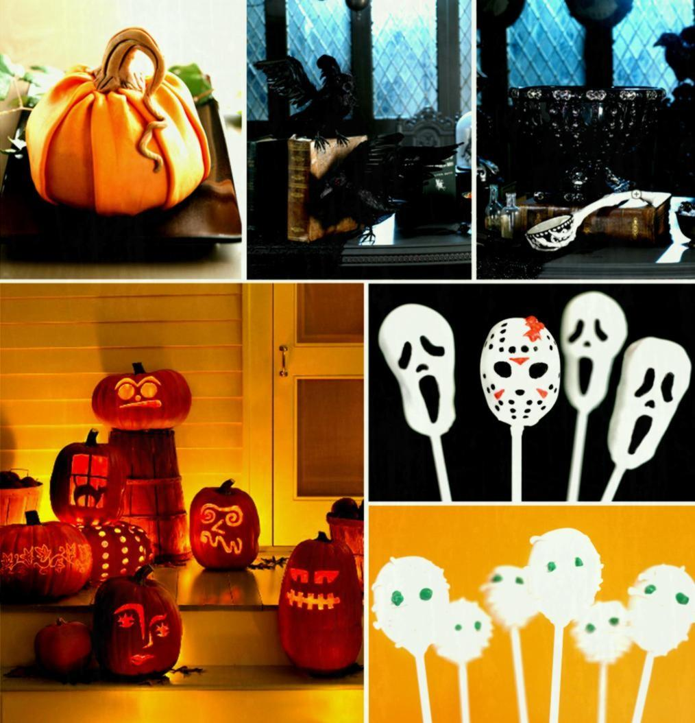 Halloween Home Decor Decorating Family Living Room